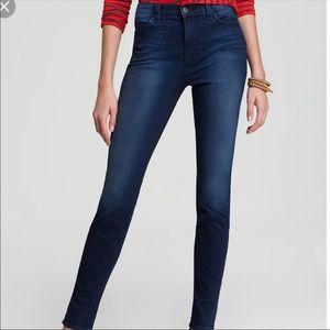J BRAND || María surrender dark denim skinny jeans